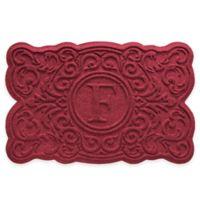Weather Guard™ Gallifrey 23-Inch x 36-Inch Door Mat in Red/Black