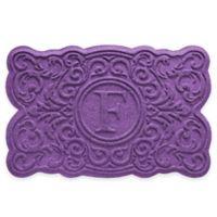 Weather Guard™ Gallifrey 23-Inch x 36-Inch Door Mat in Purple