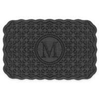 Weather Guard™ Santiago 23-Inch x 36-Inch Door Mat in Charcoal