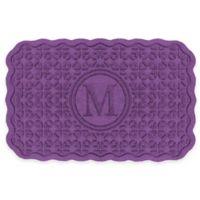 Weather Guard™ Santiago 23-Inch x 36-Inch Door Mat in Purple