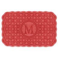 Weather Guard™ Santiago 23-Inch x 36-Inch Door Mat in Red