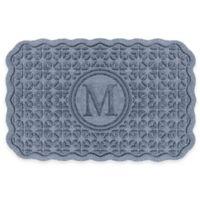 Weather Guard™ Santiago 23-Inch x 36-Inch Door Mat in Blue Stone