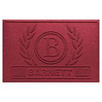 Weather Guard™ Wreath 23-Inch x 36-Inch Door Mat in Red/Black