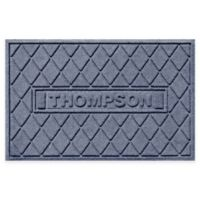 Weather Guard™ Argyle 23-Inch x 36-Inch Door Mat in Blue Stone