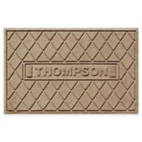 Weather Guard™ Argyle 23-Inch x 36-Inch Door Mat in Camel