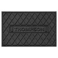 Weather Guard™ Argyle 23-Inch x 36-Inch Door Mat in Charcoal