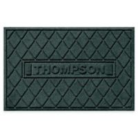 Weather Guard™ Argyle 23-Inch x 36-Inch Door Mat in Evergreen