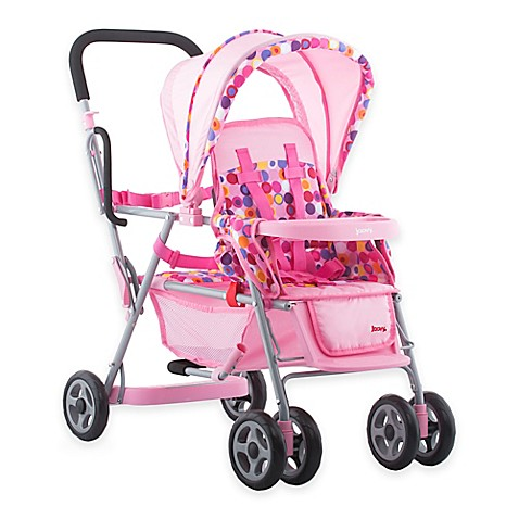 Joovy 174 Toy Caboose Stroller In Pink Buybuy Baby
