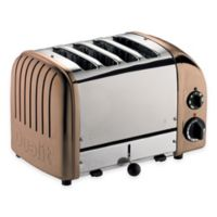 Dualit® 4-Slice NewGen Toaster in Copper
