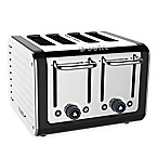 Dualit® 4-Slice Design Series Toaster in Black