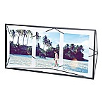 Umbra® Prisma 3-Opening Picture Frame in Black