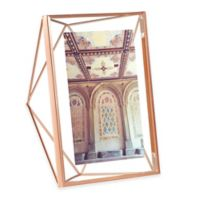 Umbra® Prisma 5-Inch x 7-Inch Photo Frame in Copper