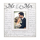 malden 5 inch x 7 inch mr mrs - Mr And Mrs Picture Frame