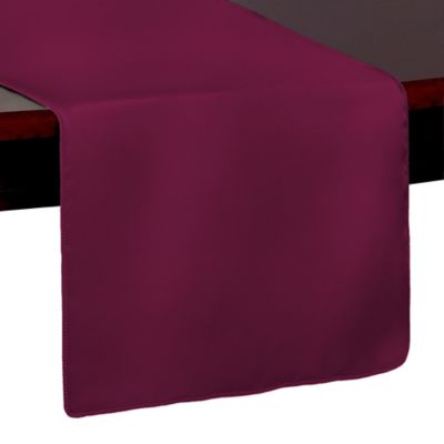 Duchess 54 Inch Table Runner In Burgundy