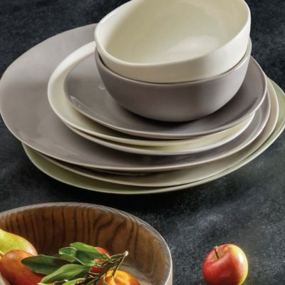 Product Image for Artisanal Kitchen Supply® Curve Dinnerware Collection in Grey 2 out of : restaurant supply dinnerware - pezcame.com