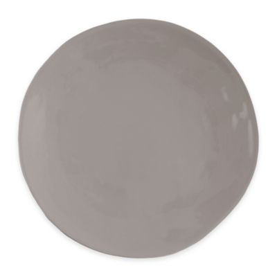 Artisanal Kitchen Supply™ Curve Dinner Plate in Grey  sc 1 st  Bed Bath \u0026 Beyond & Buy Casual Dinner Plates from Bed Bath \u0026 Beyond