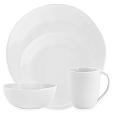 Artisanal Kitchen Supply® Curve Dinnerware Collection in White