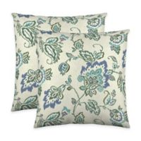 Colorfly™ Dharma Throw Pillow in Lagoon (Set of 2)