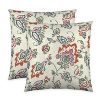 Colorfly™ Dharma Throw Pillow in Tangerine (Set of 2)
