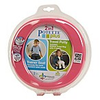 Potette® Plus 2-in-1 Travel Potty and Trainer Seat in Pink