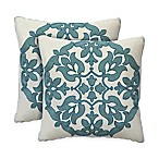 Colorfly™ Haven Throw Pillow in Mist (Set of 2)