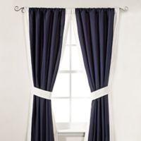 Inspired by Kravet Aida 84-Inch Window Curtain Panel Pair in Indigo