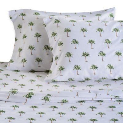 Genial Panama Jack® 300 Thread Count Palm Tree Sheet Set