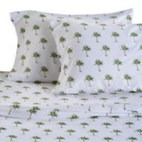 Panama Jack® 300-Thread-Count Palm Tree Queen Sheet Set in Green