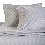 Panama Jack® 300-Thread-Count Waves Sheet Set in Grey