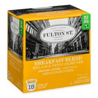 18-Count Fulton St.® Breakfast Blend RealCup™ Coffee for Single Serve Coffee Makers