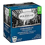 18-Count Fulton St.™ Colombian RealCup® Coffee for Single Serve Coffee Makers