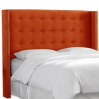 Skyline Furniture Grenshaw California King Headboard in Mystere Mango