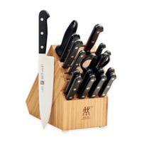 Zwilling J.A. Henckels Gourmet 18-Piece Knife Block Set