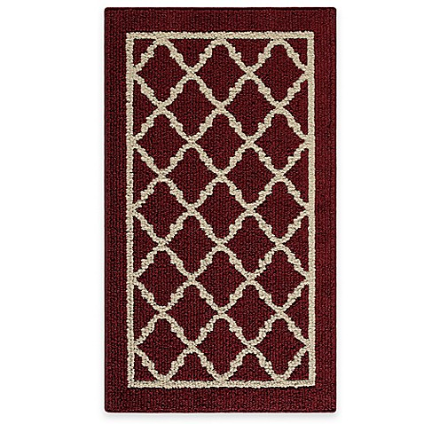 Fretwork Border 1 Foot 8 Inch X 2 Foot 10 Inch Accent Rug Bed Bath Beyond