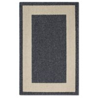 Classic Border 2-Foot 6-Inch x 3-Foot 10-Inch Accent Rug in Heather