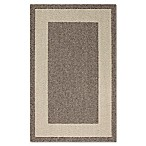 Classic Border 2-Foot 6-Inch x 3-Foot 10-Inch Accent Rug in Mushroom