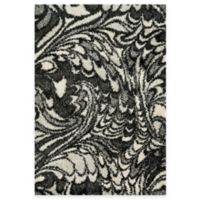 Loloi Rugs Cosma 3-Foot 9-Inch x 5-Foot 6-Inch Shag Rug in Grey