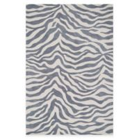 Loloi Rugs Cassidy Zebra 3-Foot 6-Inch x 5-Foot 6-Inch Area Rug in Ivory/Grey