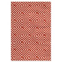 Loloi Rugs Cassidy Squares 7-Foot 6-Inch Area Rug in Rust