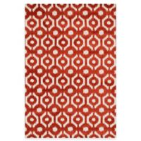 Loloi Rugs Cassidy Circles 9-Foot 3-Inch x 13-Foot Area Rug in Rust