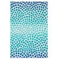 Loloi Rugs Cassidy Tile 7-Foot 6-Inch x 9-Foot 6-Inch Area Rug in Blue