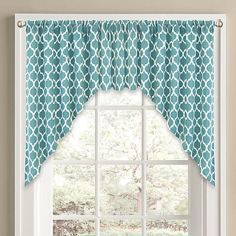 Morocco Window Curtain Swag Valance Bed Bath Amp Beyond