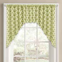 Morocco Window Curtain Swag Valance in Green