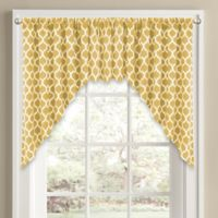 Morocco Window Curtain Swag Valance in Yellow