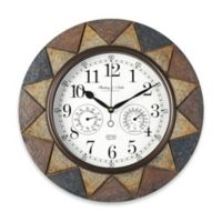 Slate Indoor/Outdoor Wall Clock
