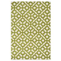 Loloi Rugs Cassidy Geometric 7-Foot 6-Inch x 9-Foot 6-Inch Area Rug in Green