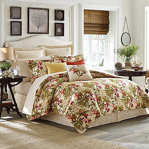 astounding tommy bahama bedroom furniture white | Tommy Bahama® Daintree Tropic Comforter Set - Bed Bath ...