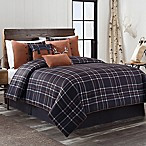 Hayes 7-Piece Queen Comforter Set in Dark Navy