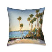 Laural Home® Distant Shore Square Throw Pillow