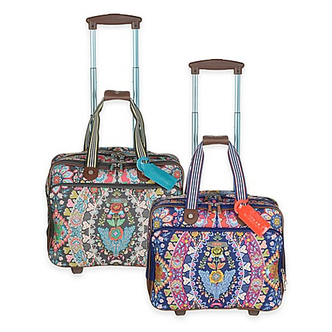 Oilily Travel Rolling Office Bag